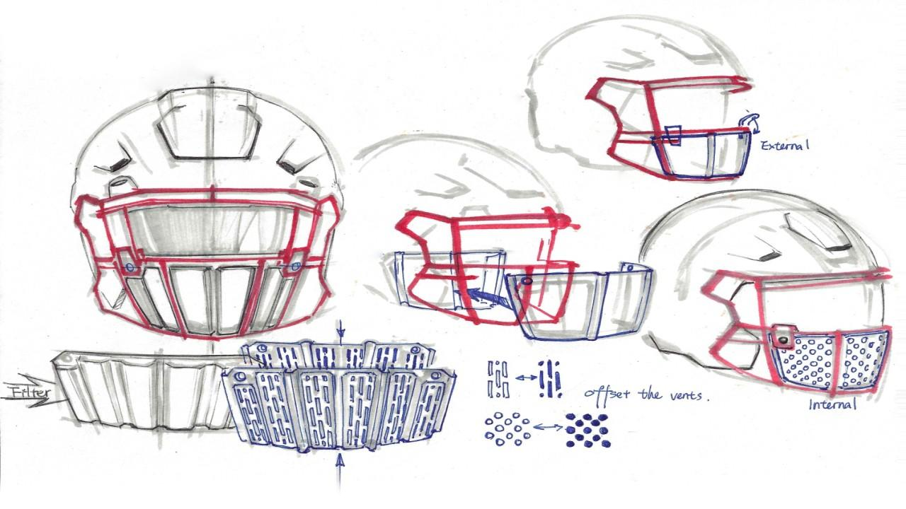 Genesco Sports CEO John Tatum breaks down how the new Oakley face shield will protect NFL players from respiratory droplets and coronavirus contamination.