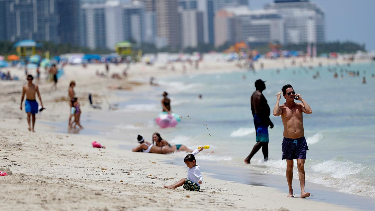 Miami Mayor Francis Suarez discusses what's being done to curb coronavirus cases in Florida, including closing beaches and indoor dining and implementing a mask-in-public rule.