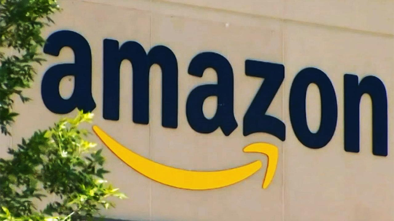 Amazon posts a record second-quarter profit of $5.2 billion resulting from a spike in online shopping.