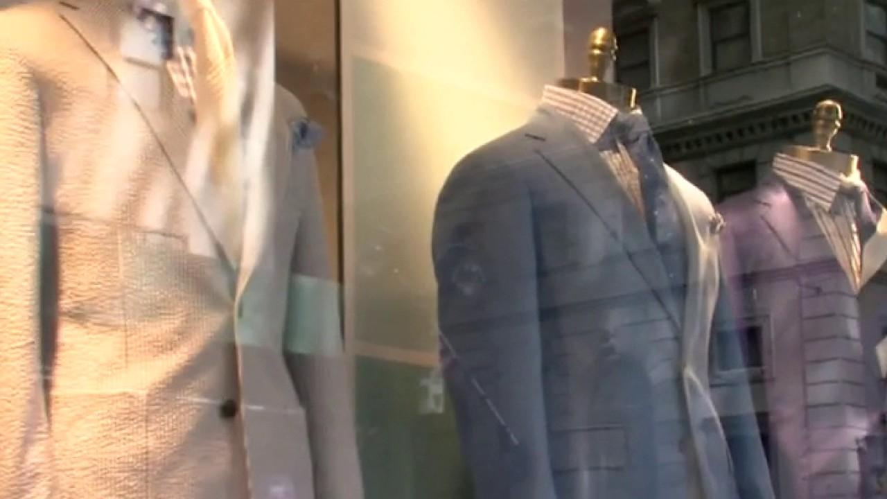 FOX Business' Charlie Gasparino says many possible bidders are planning to eliminate stores, but reportedly, Solitare Partners chairman David Jackson is interested in bidding and plans to preserve some of Brooks Brothers' retail and U.S. manufacturing.