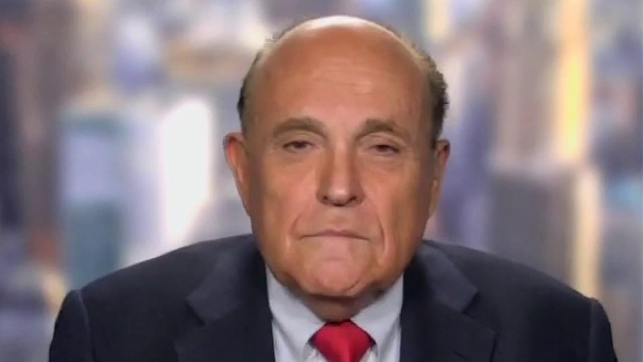 Former New York City Mayor Rudy Giuliani discusses crime rates skyrocketing, continuing protests and coronavirus spikes.