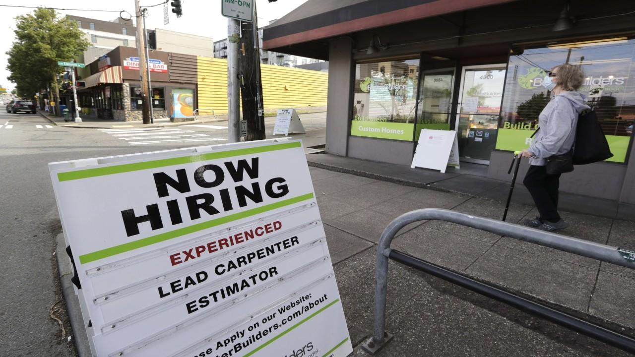 The June jobs report revealed 4.8 million jobs were added last month with the unemployment rate dropping to 11.1 percent. FOX Business' Cheryl Casone with more.