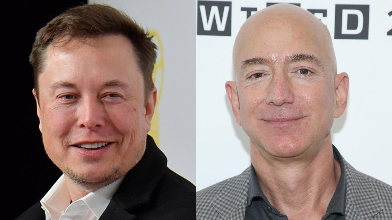 Tesla's Elon Musk is now the fifth richest person in the world, while Amazon CEO Jeff Bezos added a record $13 billion to his net worth. FOX Business' Susan Li with more.