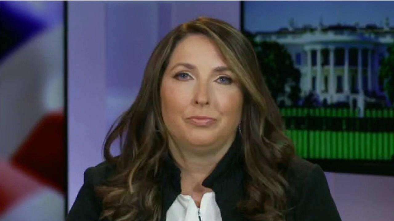 "RNC Chairwoman Ronna McDaniel argues President Trump is trying to highlight the ""huge problem"" with mail-in voting across America in response to his tweet suggesting that the 2020 election be delayed."
