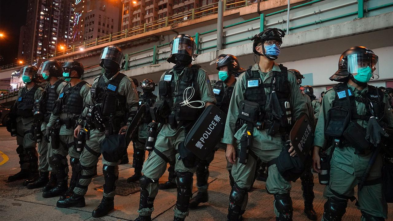 Next Digital founder and majority shareholder Jimmy Lai shares his experience on the ground in Hong Kong as the police arrest people in response to China's new national security law there.