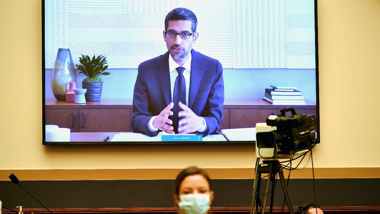Alphabet CEO Sundar Pichai answers questions about Google users' privacy.