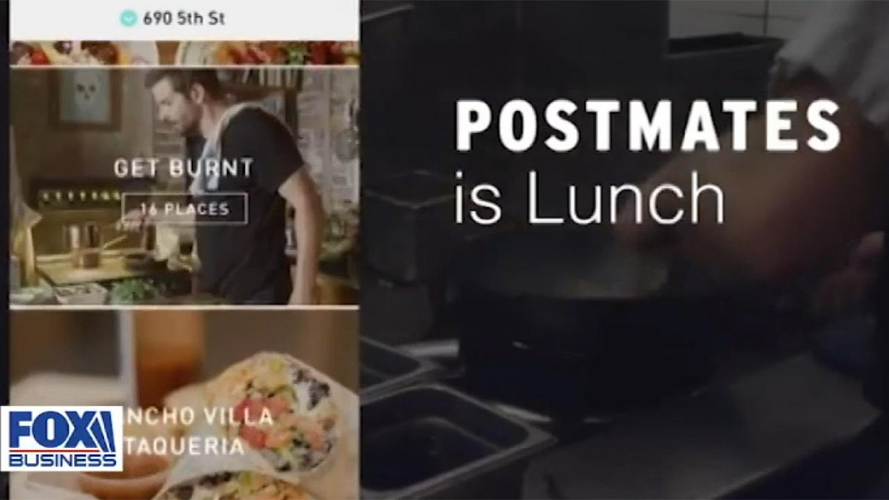 Uber buying Postmates in an all-stock transaction valued at $2.65 billion.