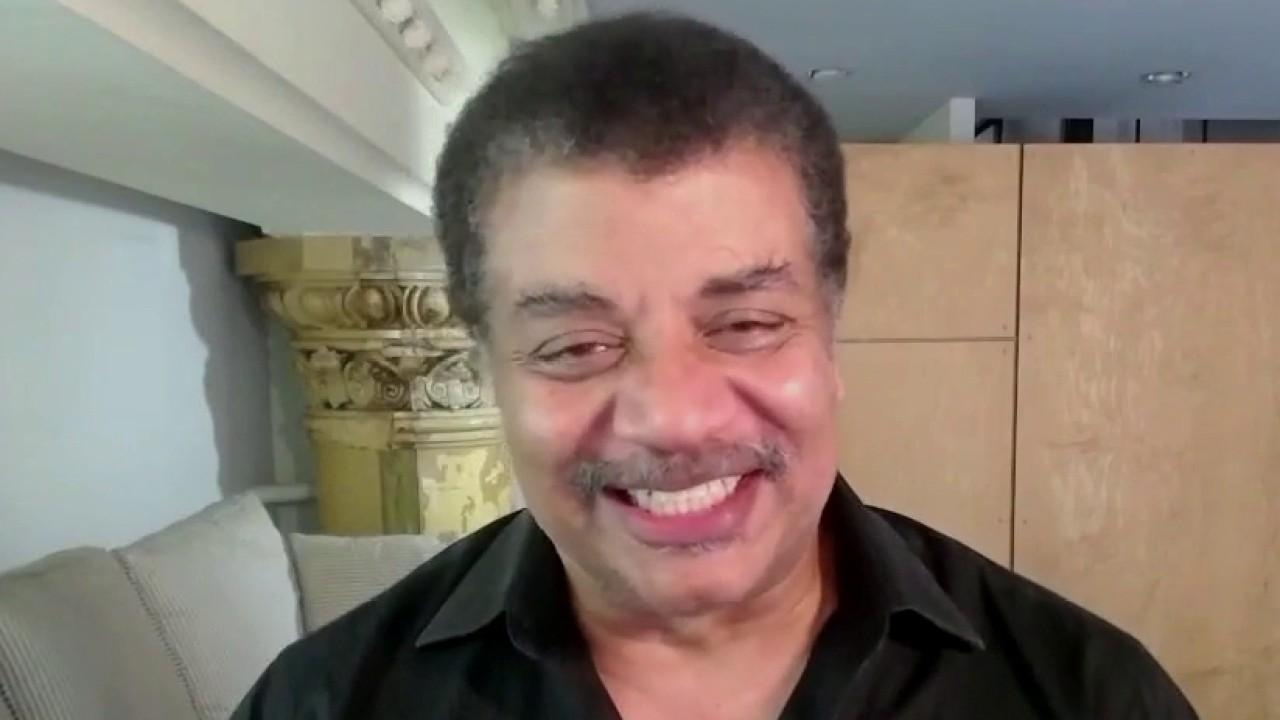 Astrophysicist Neil deGrasse Tyson explains the airborne vehicle that will be flying around Mars and talks about what signs of past or present life the new Mars rover might find. He later addresses the SpaceX crew preparing to return home Sunday.
