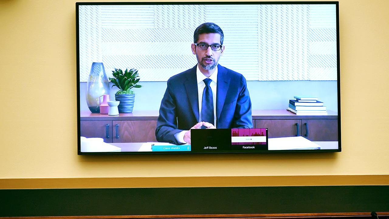 Rep. Matt Gaetz, R-Fla., questions Alphabet CEO Sundar Pichai over Google's artificial intelligence work in China.