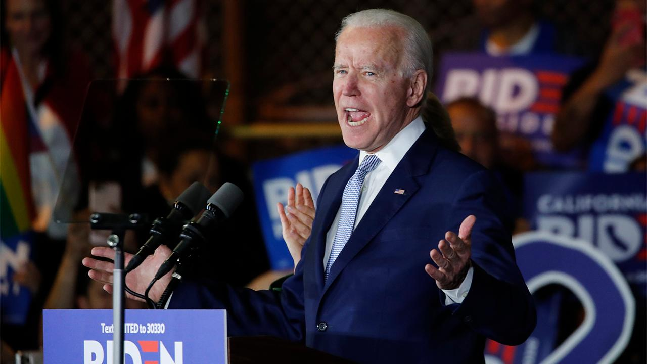 FOX Business' Hillary Vaughn says presumptive Democratic nominee Joe Biden argues his proposed economic plan will improve American lives and punish companies that open businesses overseas.