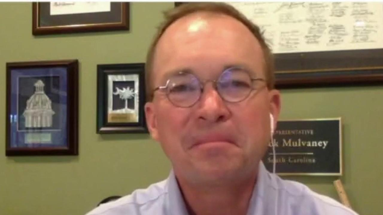 Former White House Chief of Staff Mick Mulvaney on the importance of an additional economic stimulus package and discusses its contents.