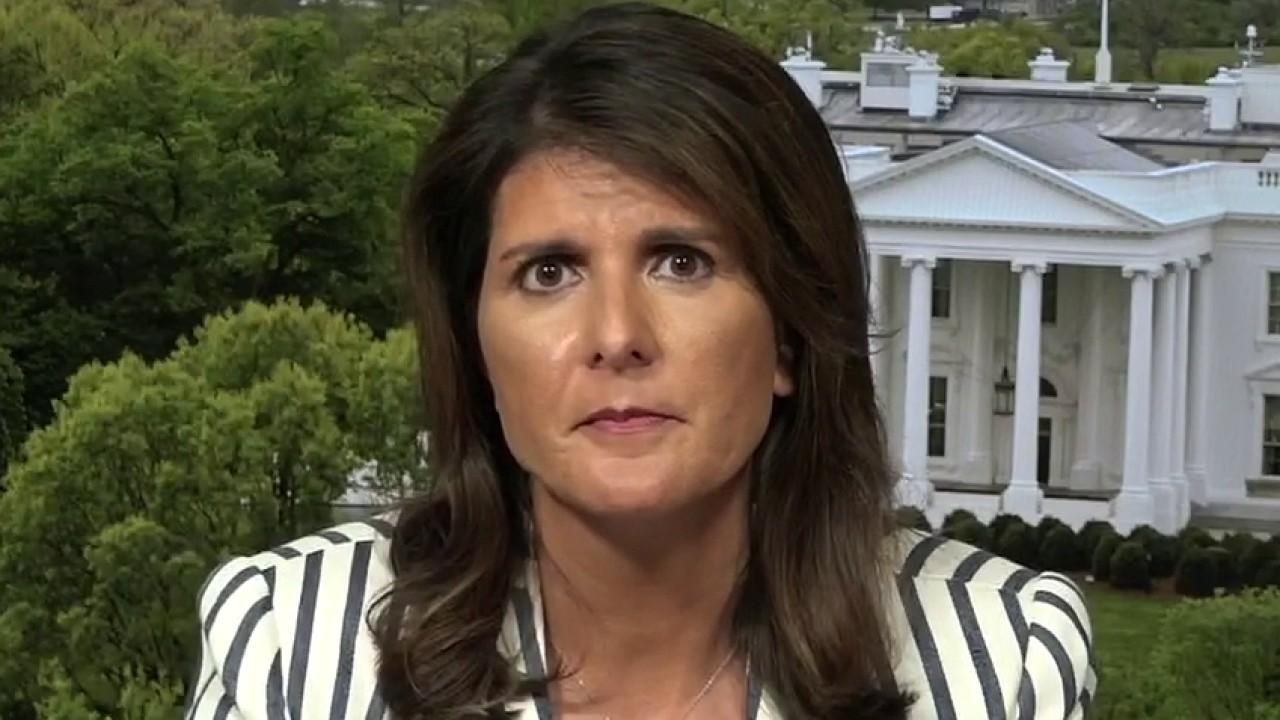 Former U.S. Ambassador to the U.N. Nikki Haley argues the idea that China is holding hands with Iran is very telling to the U.S. and its allies around the world.