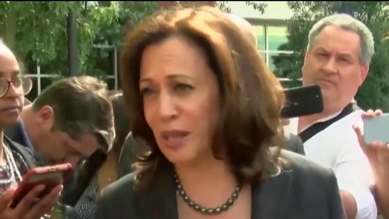 Biden chooses Kamala Harris as running mate; Jacqui Heinrich reports.