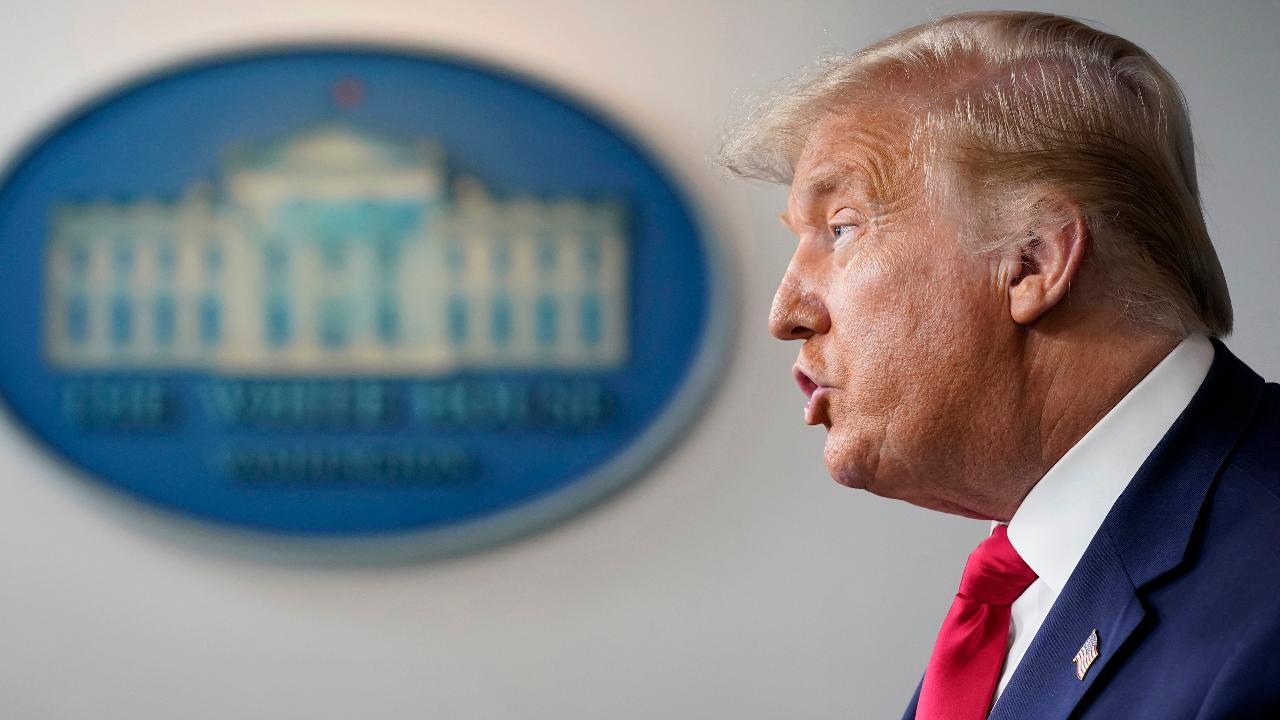 President Trump discusses America seizing Iranian oil tankers.