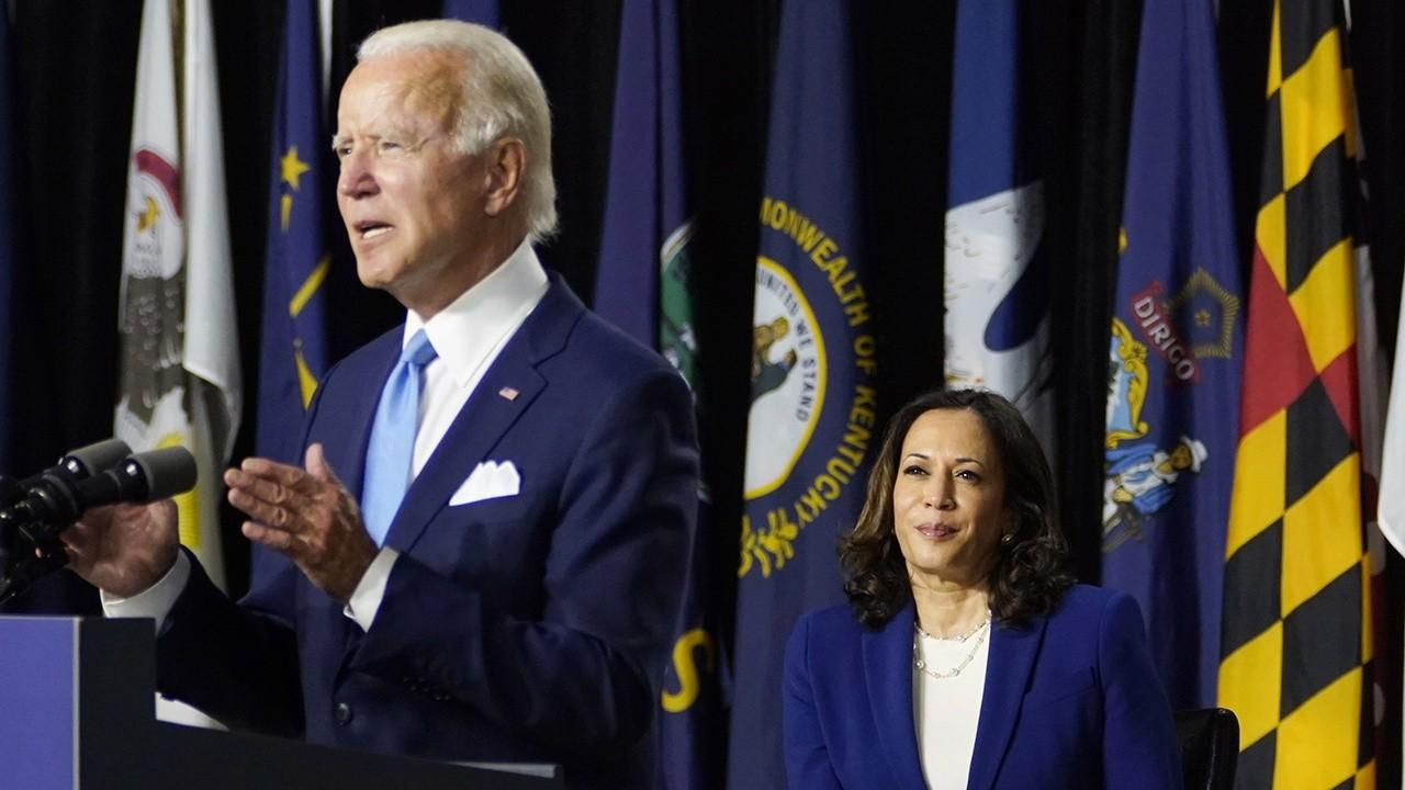 President Trump says if presumptive Democratic nominee Joe Biden wins the presidential election, Biden will raise taxes by $4 trillion and 'the markets will crash.'