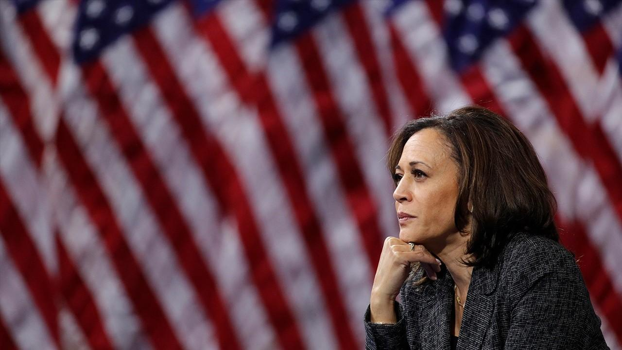 Former White House Aide to President Barack Obama and Global Situation Room CEO Johanna Maska reacts to the announcement of presumptive Democratic nominee Joe Biden selecting Sen. Kamala Harris, D-Calif., as his running mate.