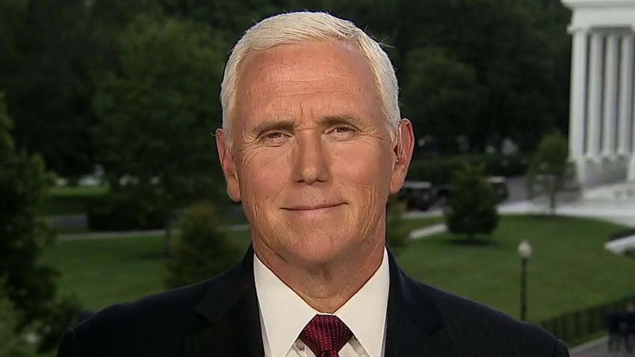 Vice President Mike Pence tells Lou Dobbs that the Trump administration will not let the American people be used as pawns in the Democrats' effort to push a massive, big government spending bill.