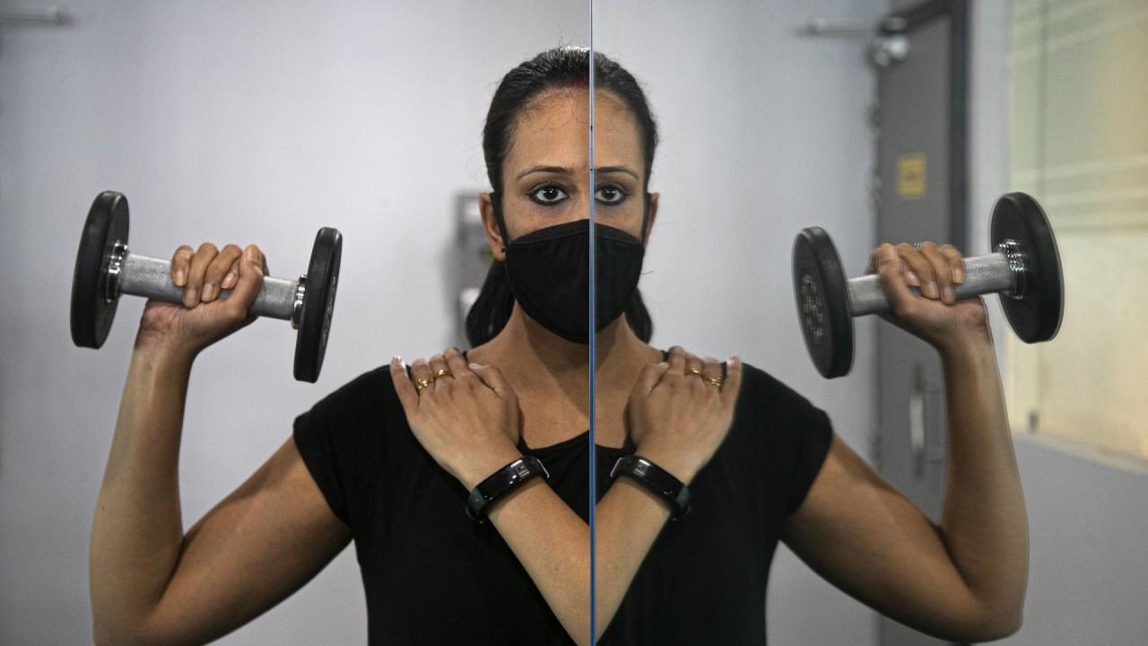 Retro Fitness CEO Andrew Alfano says gym demand continues to be strong, even with added safety precautions such as wearing a mask while exercising.