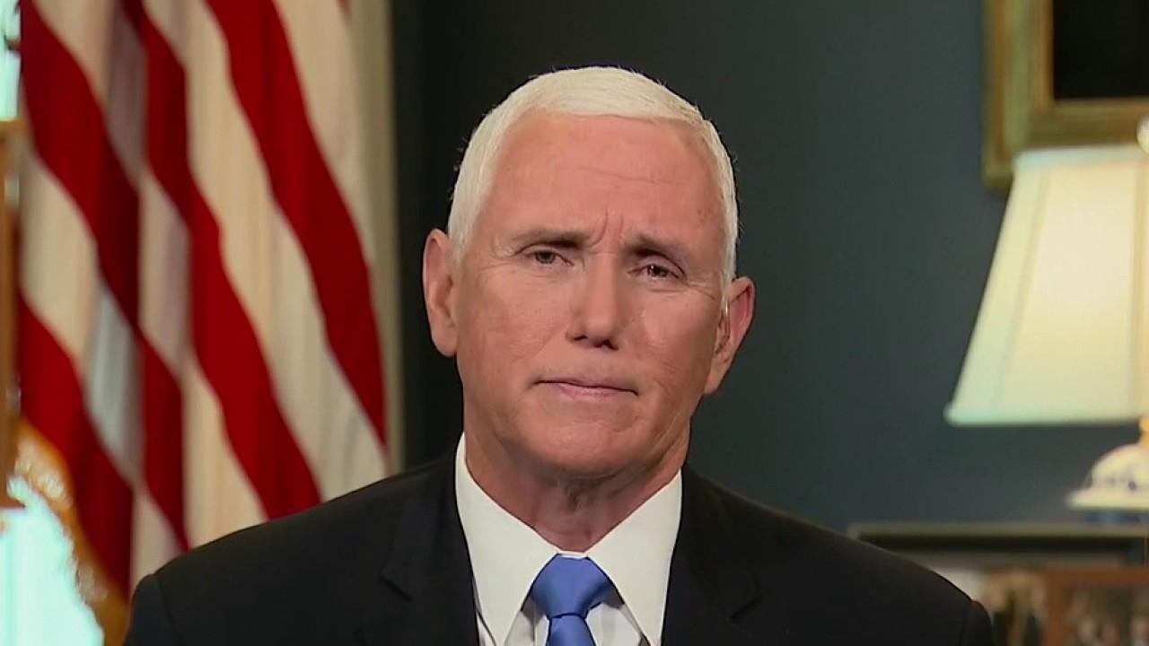 Vice President Mike Pence provides insight into the Democratic National Convention, President Trump's coronavirus efforts, facing Kamala Harris at the Republican National Convention, the administration's response to Steve Bannon's arrest and reopening schools.