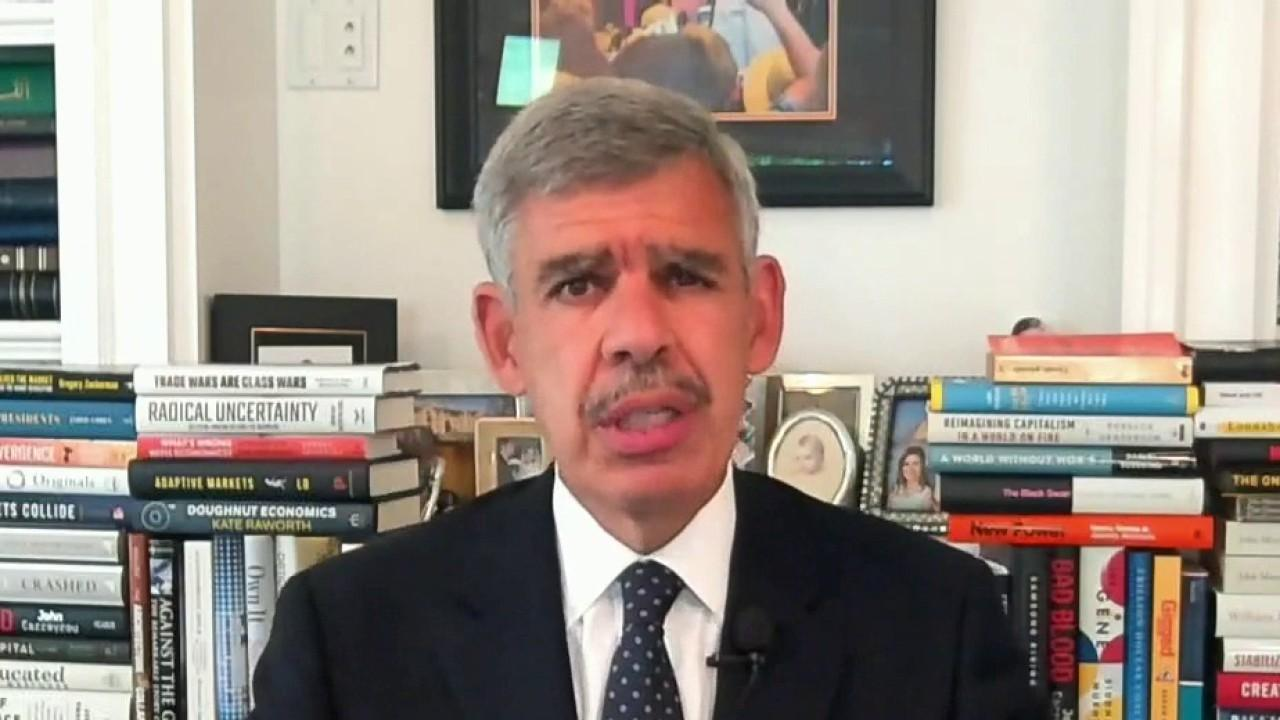 Allianz chief economic adviser Mohamed El-Erian expresses his concern about the labor market and its ability to continue to power consumption in America.