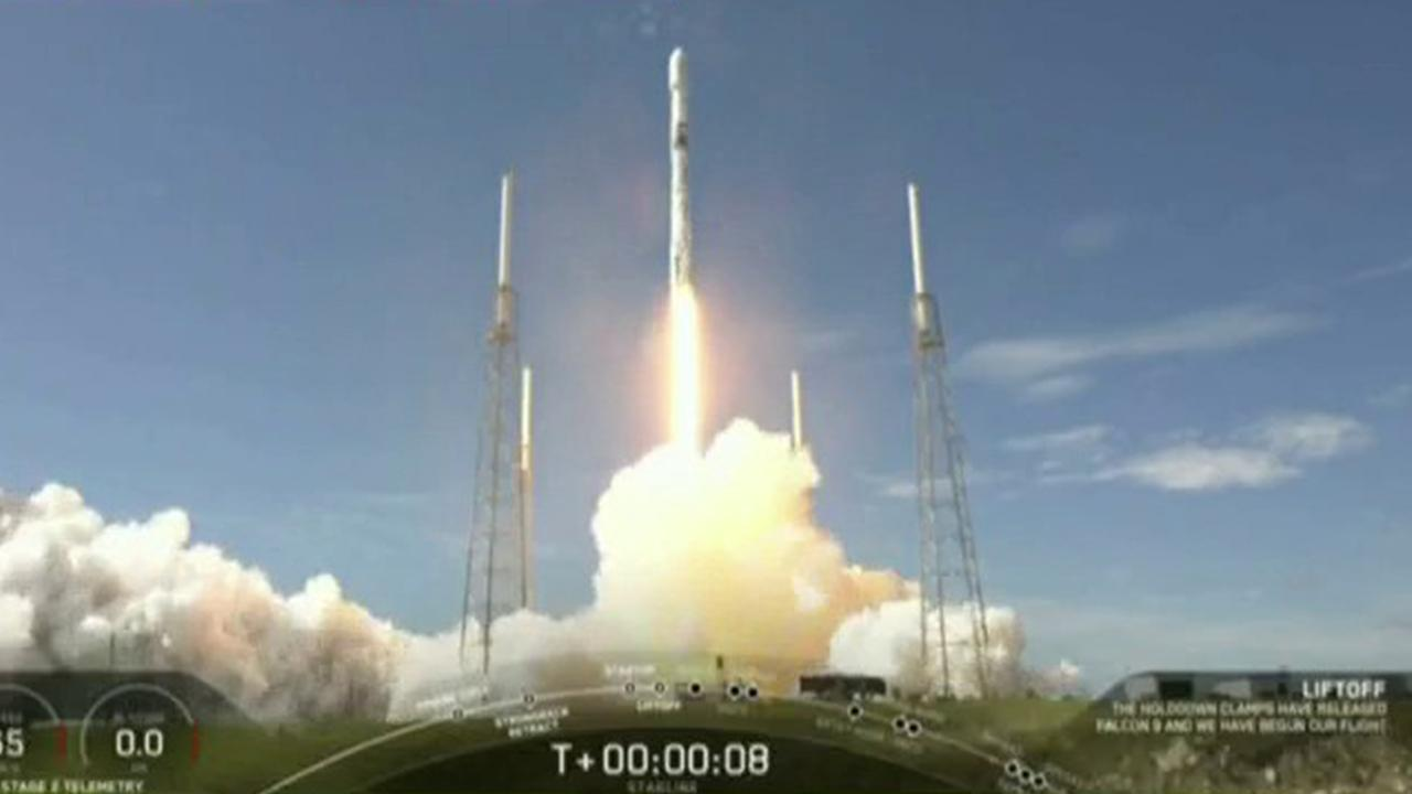 Elon Musk Talks Bogus Covid 19 Test Ahead Of Spacex Launch Fox Business