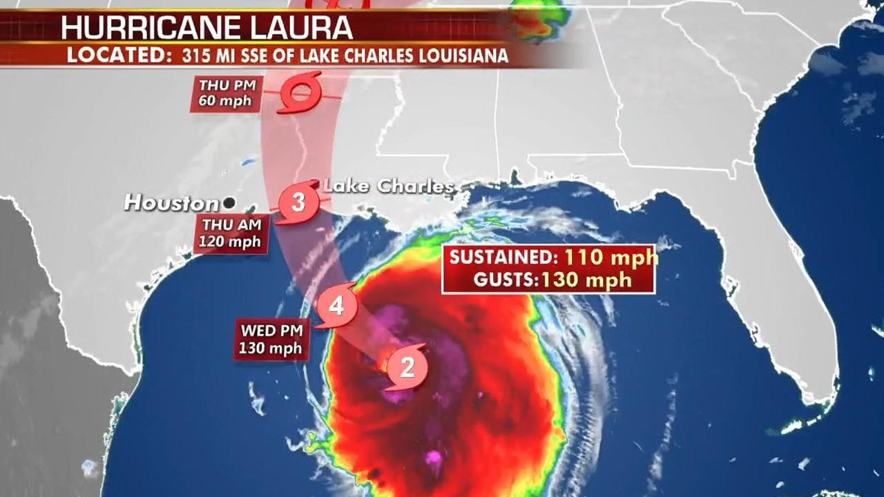 The Motiva Enterprises Refinery in Port Arthur, Texas, is temporarily shutting down ahead of Hurricane Laura. FOX Business' Jeff Flock with more.