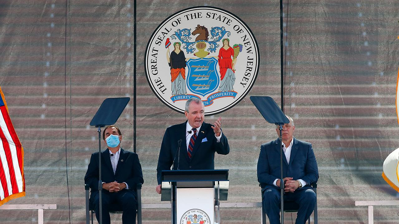New Jersey Gov. Phil Murphy is planning to add more tax hikes to help balance his state's budget. FOX Business' Lauren Simonetti with more.