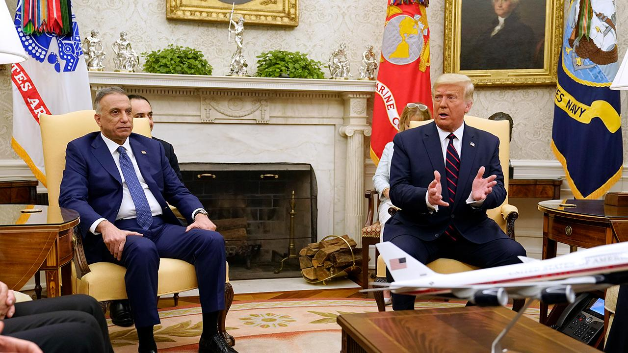 President Trump says the U.S. has developed a very good relationship with Iraq while holding a bilateral meeting with the Prime Minister of Iraq.