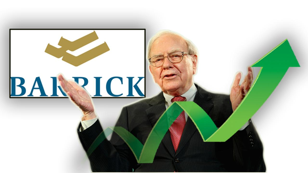 FOX Business' Ashley Webster reports on Berkshire Hathaway CEO Warren Buffett becoming the 11th largest shareholder of Barrick Gold.