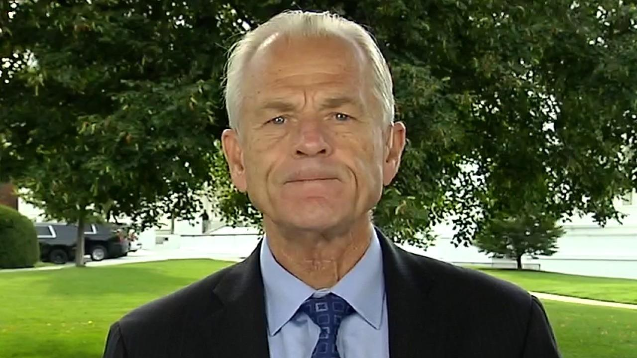 Director of the White House Office of Trade and Manufacturing Policy Peter Navarro on TikTok's sale and the permanent destruction of jobs as a result of the coronavirus pandemic.