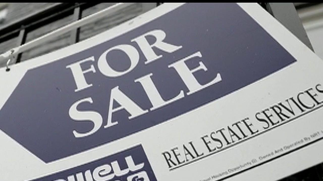 FOX Business' Gerri Willis talks about how homes are flying off the market at a record pace and says all eyes are on this week's real estate data releases.