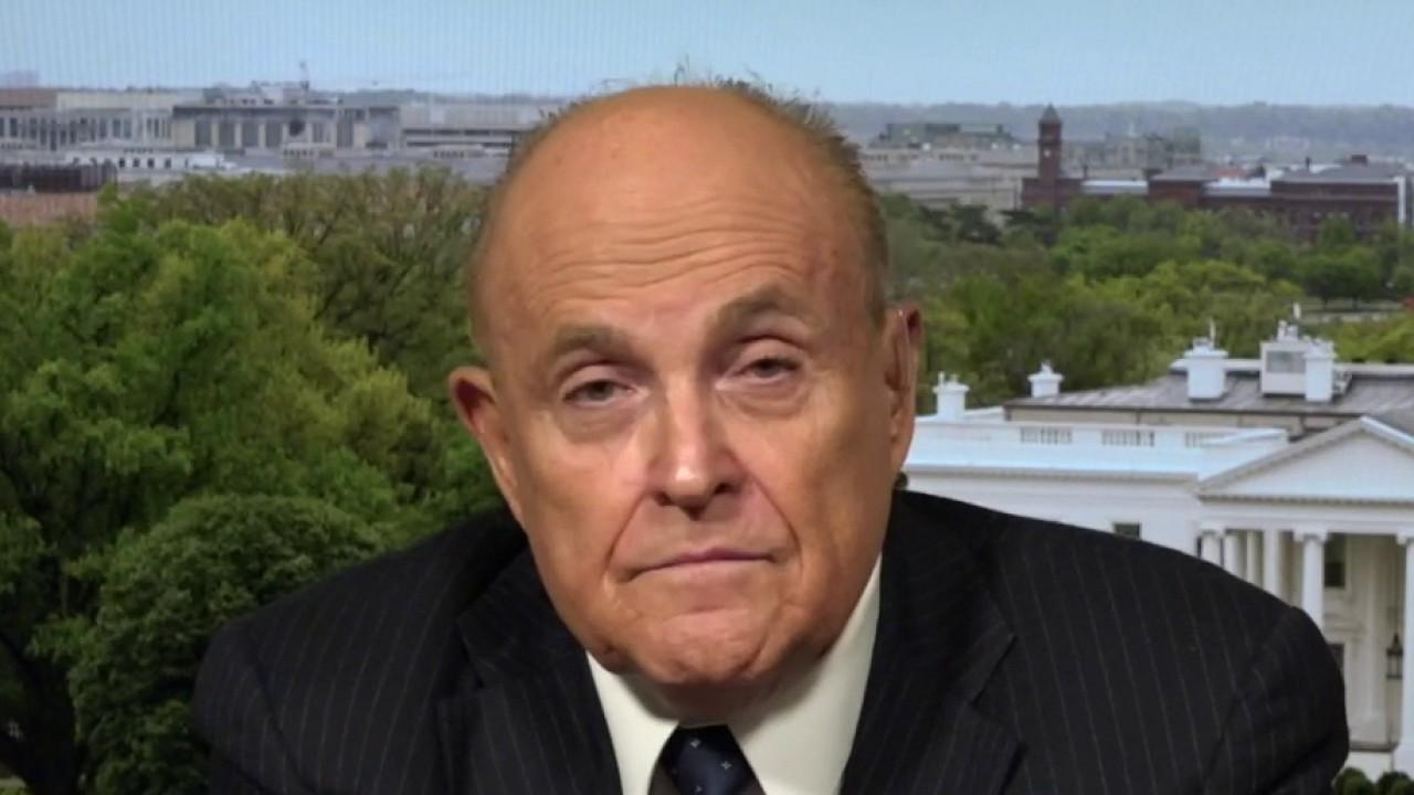 Former New York City Mayor Rudy Giuliani provides insight into the Republican National Convention and the Virginia Senate approving a controversial bill that would downgrade the penalty for assaulting a police officer.