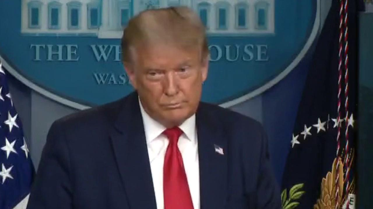 President Trump says the U.S. should get a 'very large percentage' of any potential TikTok sale because 'we're making it possible.'