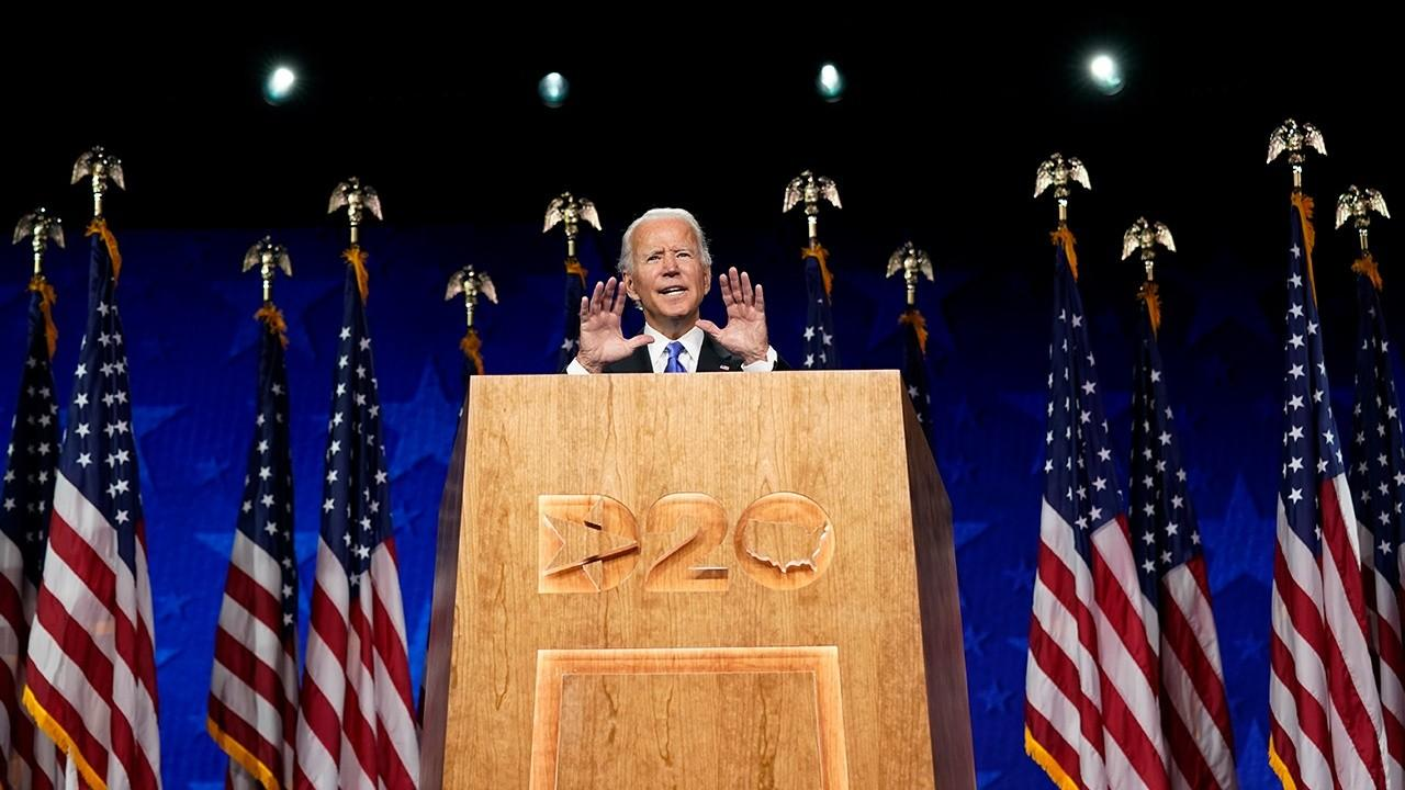 Democratic strategist Richard Goodstein and former Virginia Congresswoman Barbara Comstock (R) add their thoughts on what message candidate Joe Biden and the 2020 Democratic National Convention were trying to present.