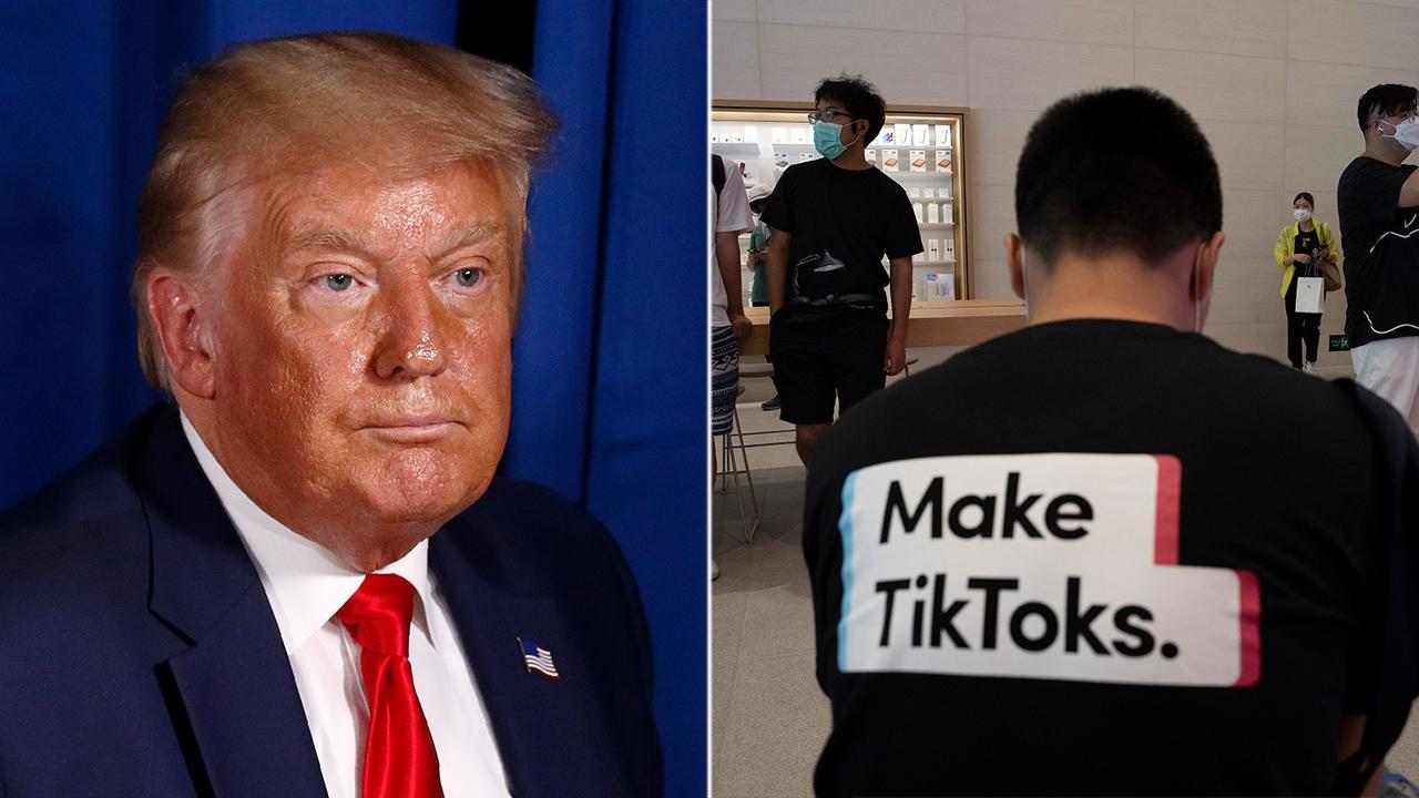 FOX Business' Charlie Gasparino discusses White House executive orders regarding TikTok and coronavirus stimulus.