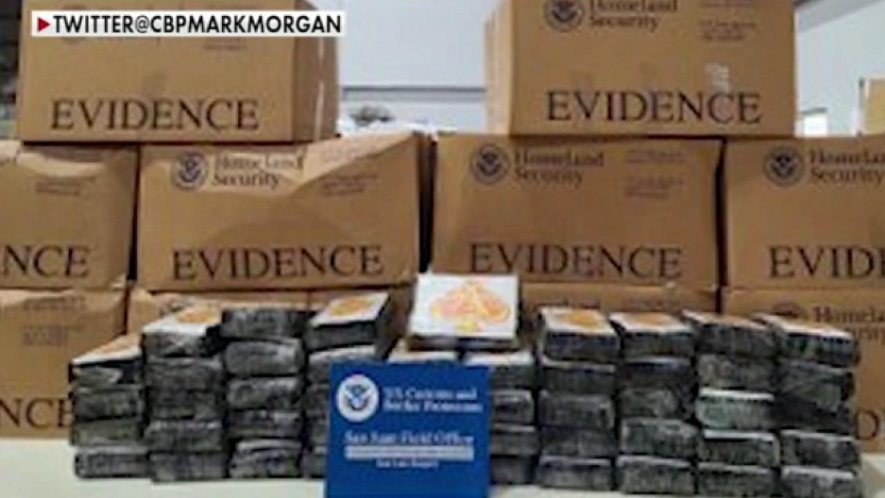 Feds seize historic amount of drugs at border; reaction and analysis from Art Del Cueto, National Border Patrol Council vice president.