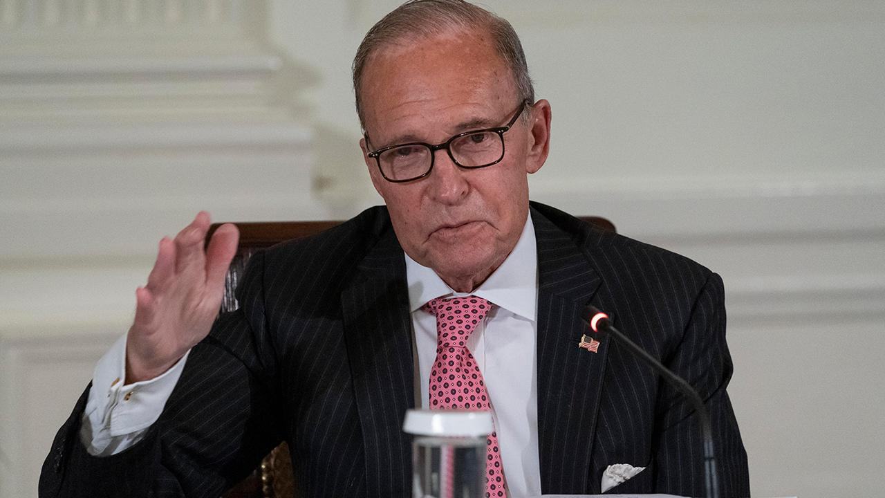 National Economic Council Director Larry Kudlow on coronavirus stimulus negotiations, America's economic recovery and remembering the 9/11 terror attacks.