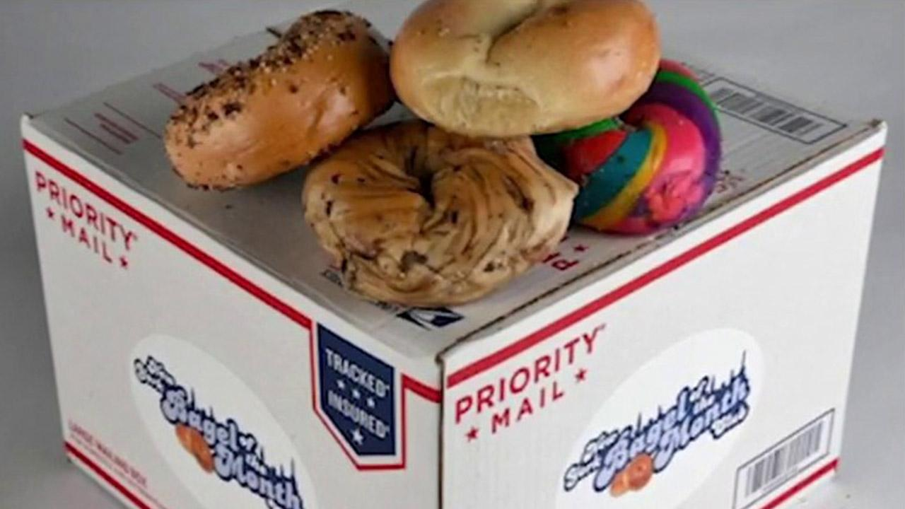 Bagel of the Month Club owner Andrew Hazen says his online business is up over 2,000 percent due to rebooting during the coronavirus outbreak.