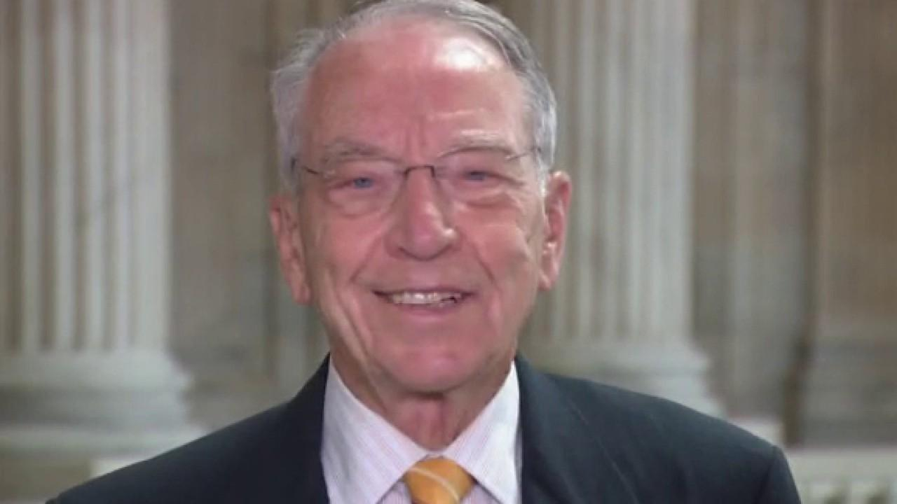Sen. Chuck Grassley, R-Iowa, provides insight into the coronavirus stimulus stalemate.