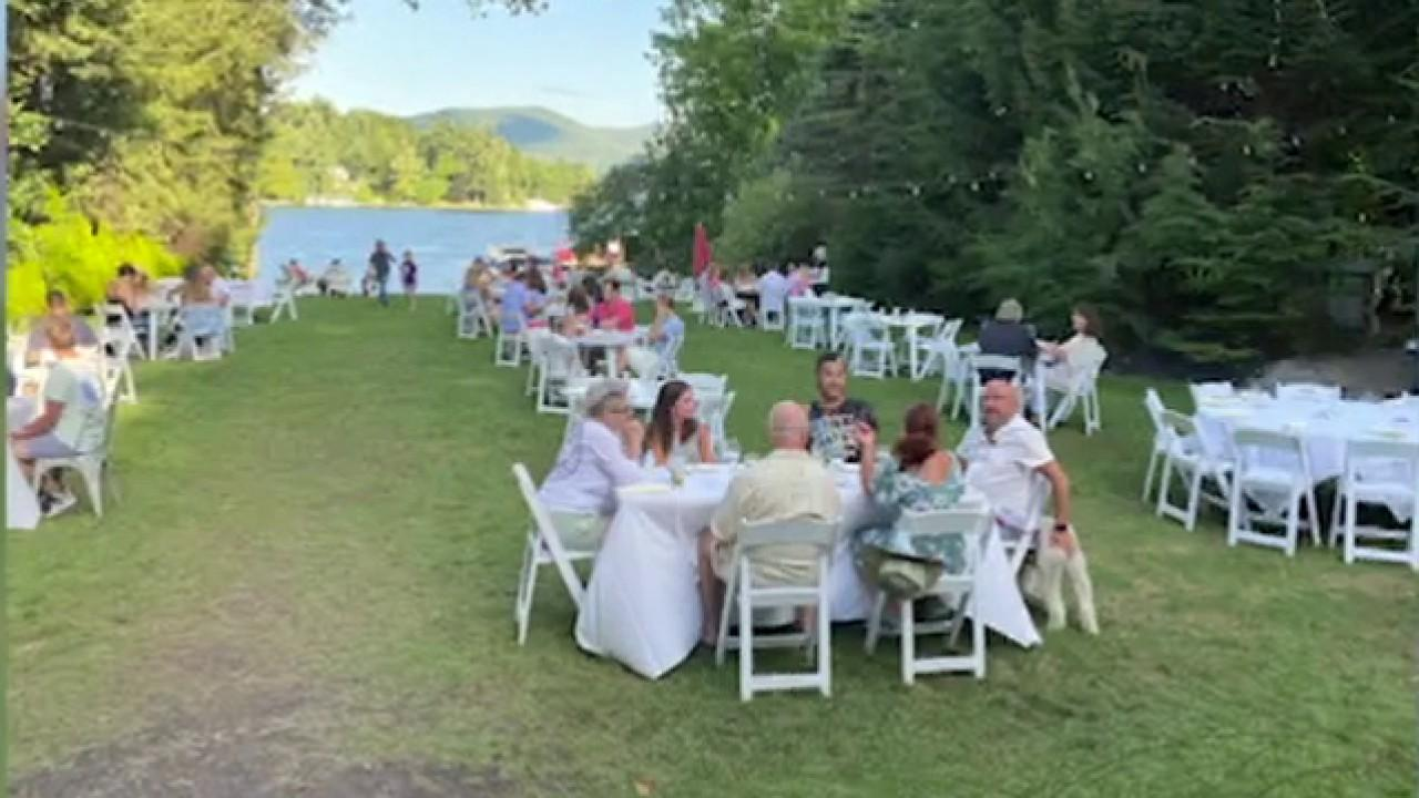 The Chateau on the Lake owner Edward 'Buddy' Foy, Jr. says his restaurant outperformed their expectations and even though they have more overhead with socially distancing protocols, he's excited to have the money to figure out those things.
