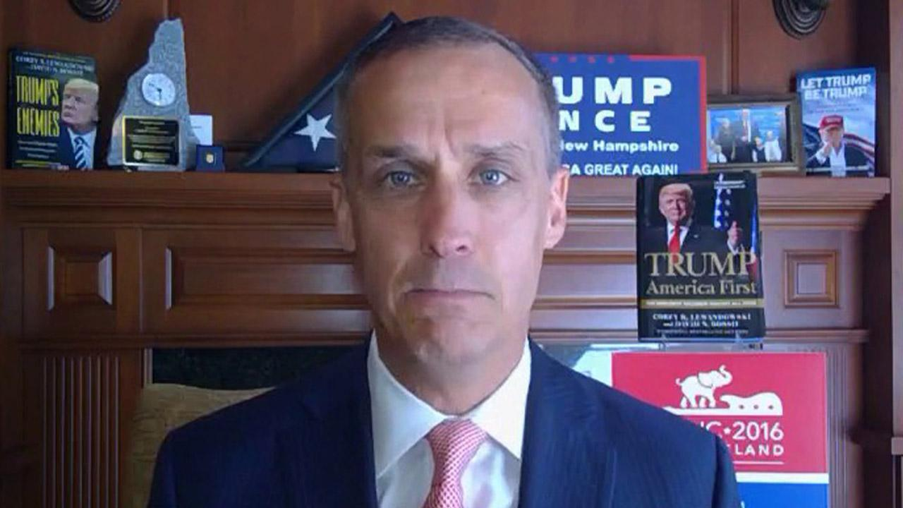 Authors and Trump campaign senior advisers Corey Lewandowski and David Bossie discuss prepping President Trump for his debates in 2016, what to expect from Joe Biden in Tuesday's debate and their new book, which includes details of Lewandowski almost getting into a fist fight with Chief of Staff John Kelly in the Oval Office.