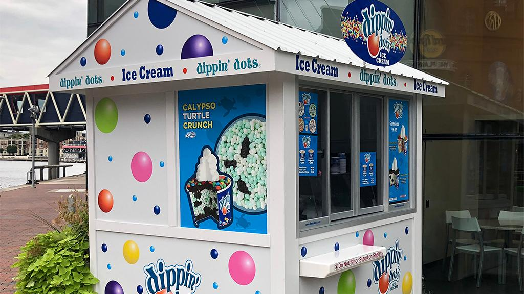 Dippin' Dots CEO Scott Fischer discusses diversifying his business to adapt to decreased ice cream sales amid the coronavirus outbreak.