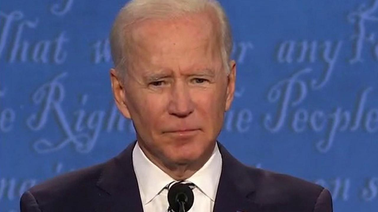 Presidential candidate Joe Biden argues his climate change plan will also benefit the economy and employment levels in the first presidential debate.