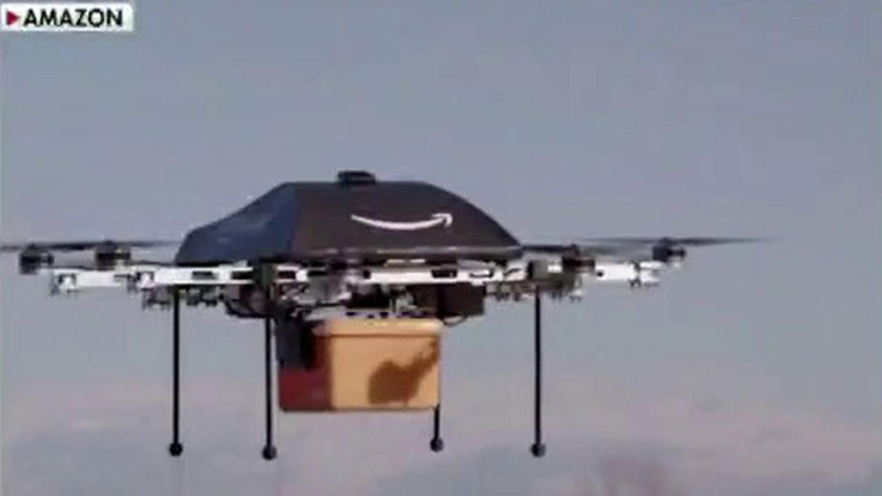 Amazon has received FAA approval to move forward with its drone delivery program. FOX Business' Susan Li with more.