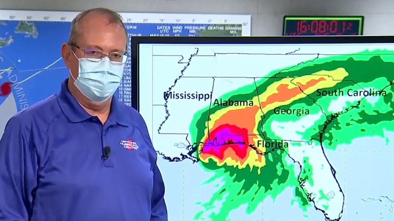 National Hurricane Center Director Ken Graham on why a slow-moving hurricane is a problem.