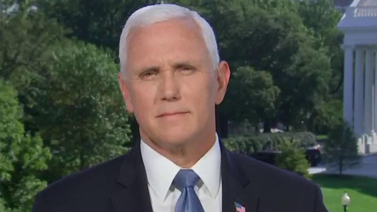 Vice President Mike Pence responds to a report from The Atlantic claiming that President Trump made disparaging remarks about American troops.