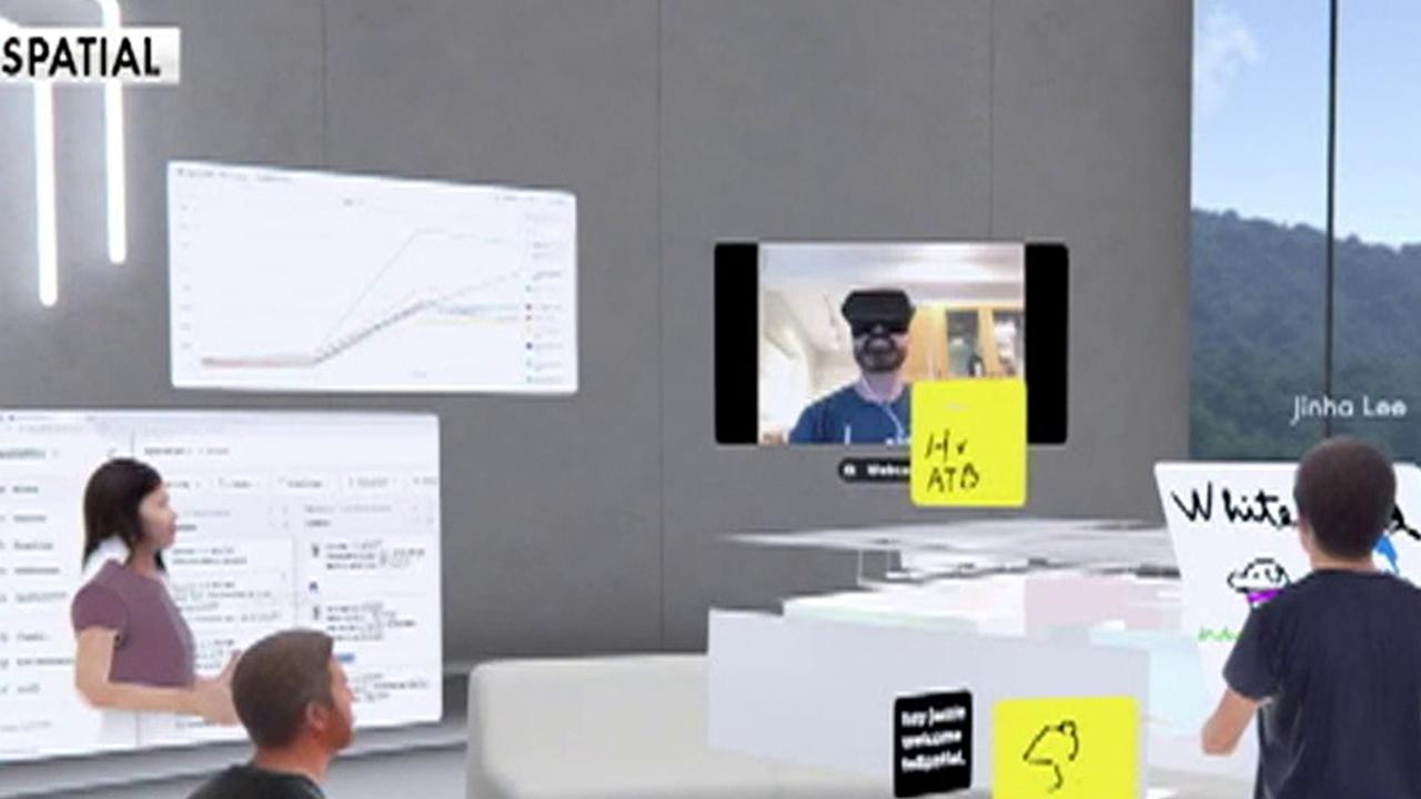 Jacob Loewenstein, head of business at Spatial, gives details on how his company uses augmented reality to transform virtual meetings.