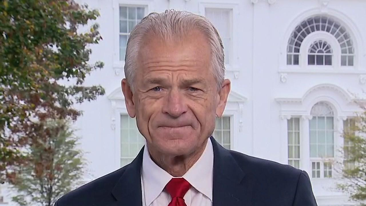 Assistant to the President for Trade and Manufacturing Policy Peter Navarro on Biden and Trump's economic policies.