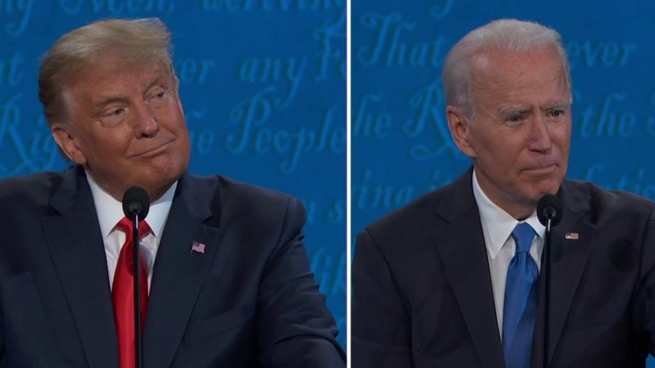 Trump and Biden spar over the oil industry.