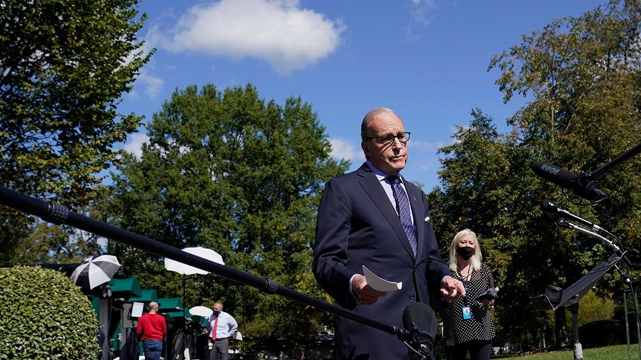 National Economic Council Director Larry Kudlow on the coronavirus stimulus deal, the 'blowout' in retail sales and U.S. economic recovery.